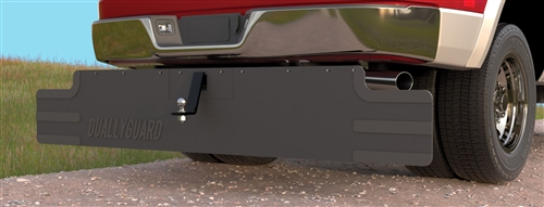 Smart Solutions 7094 Dually Splash Guard For Dual Wheel Trucks