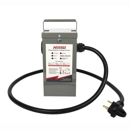 Hughes Autoformer Rv2130 Sp 30 Amp Voltage Booster With