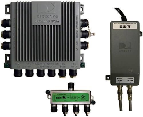 winegard swm d30 single wire multi switch kit DirecTV SWM Connection Diagram
