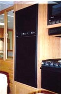 Frv Inc 2820l Dometic Rm2820 Black Acrylic Refrigerator