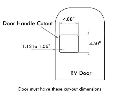 Bauer Electric RV Door Lock