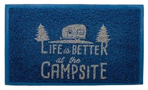Camco 53201 Life Is Better At The Campsite Outdoor Indoor Welcome Mat 29 X 17 1